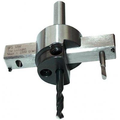Kruhový vyrezávač Liliput valcová stopka 10,0mm GFS