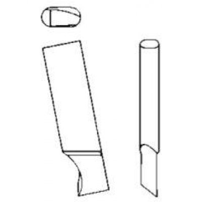 Nôž pre kruhové Vyrezávací tvrdokov Liliput 122 GFS