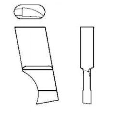 Nôž pre kruhové Vyrezávací tvrdokov 00A8 GFS