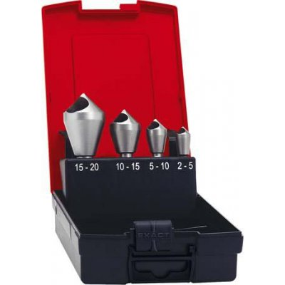 Sada Odhrotovací záhlbníkov HSS priečny otvor 90 ° 2-20mm FORMAT