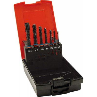 Sada strojných závitníkov Fat Tandem DIN376 HSS-Co5 čiernený typ N 6H slepý otvor M3-M12 FORMAT