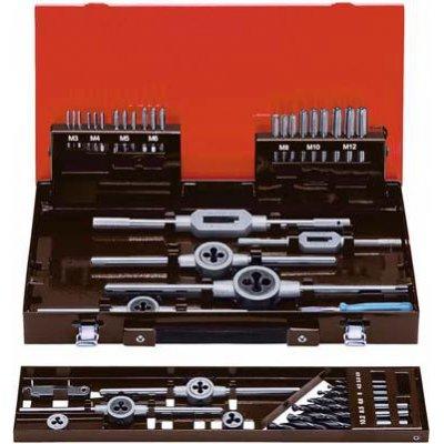 Sada ručných závitníkov DIN352 HSS-Co5 M3-12 FORMAT