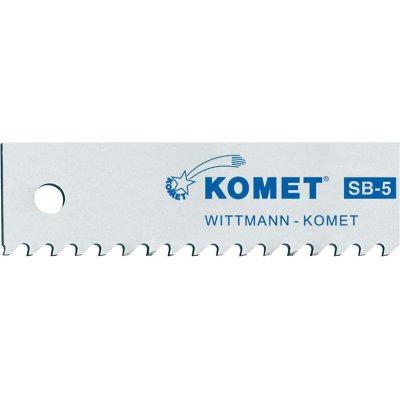 List do píly SB5 Z10 pre palec 400x25x1,25mm KOMET