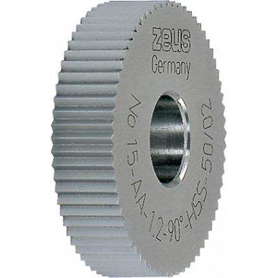 Radlovacie frézovacie koliesko DIN403 PM AA 25x6x8mm 0,6-rozteč ZEUS