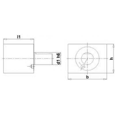 VDI 4hran Röhling A1 25 x 75 mm