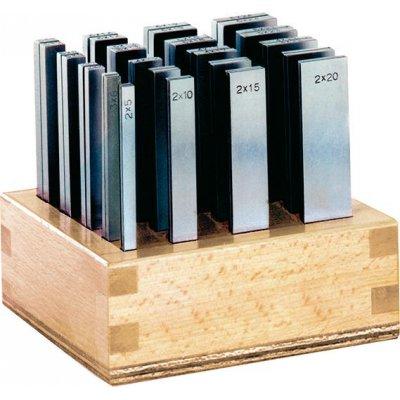 Sada paralelné podložky P dĺžka 100mm + drevený stojan FORMAT