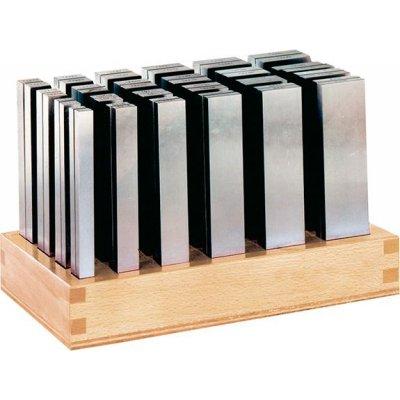 Sada paralelné podložky P dĺžka 125mm + drevený stojan FORMAT