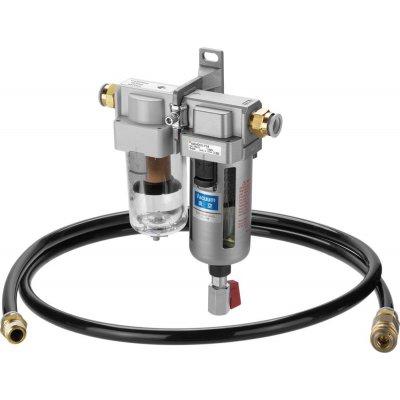 Odlučovač kvapalín s vákuovým filtrom AMF