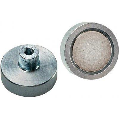 Magnetický plochý chapač NdFeB závit 20x6 / 13mm FORMAT