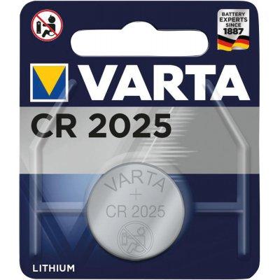 Gombíkový článok Electronics CR 2025 VARTA