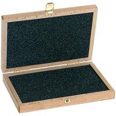 Drevený box na posuvné meradlo 300m vrátane / bez meracích hrotov FORMAT