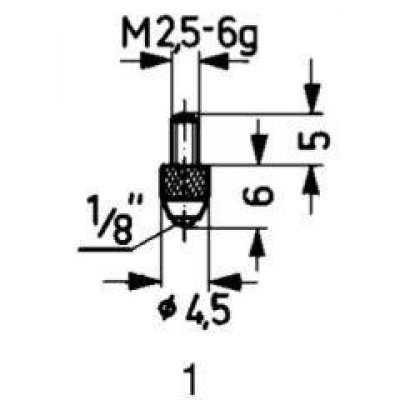 Meracie snímač oceľ typ 1 / štandard Käfer