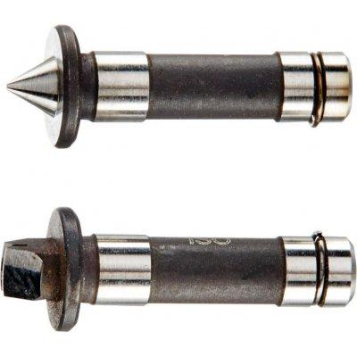 Závitové mierky (pár) na stúpanie metrických vnútorných závitov: 1,5-1,75mm HP