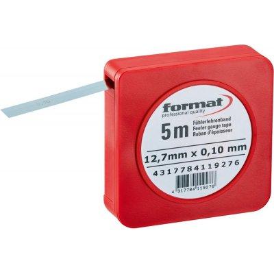 Škárová mierka v páse 0,03 mm FORMAT