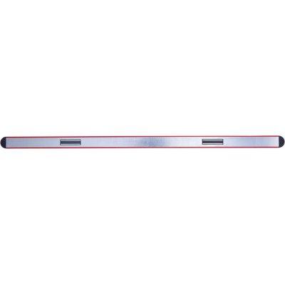 Vodováha ľahký kov magnet červený práškový povlak 80cm FORMAT