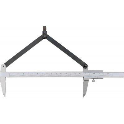 Kružítkové posuvné meradlo 200mm FORMAT