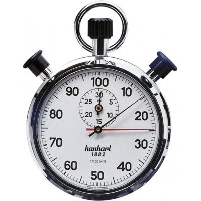 prídavné dvojité stopky 1/100-min. 30min. HANHART