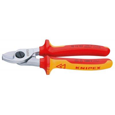 Káblové nožnice VDE viaczložkové návleky 165mm KNIPEX