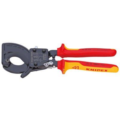 Rezač káblov VDE viaczložkové návleky 280mm KNIPEX