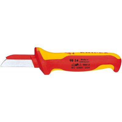 VDE nôž na káble 180mm čepeľ 50mm tupá časť čepele z plastu KNIPEX