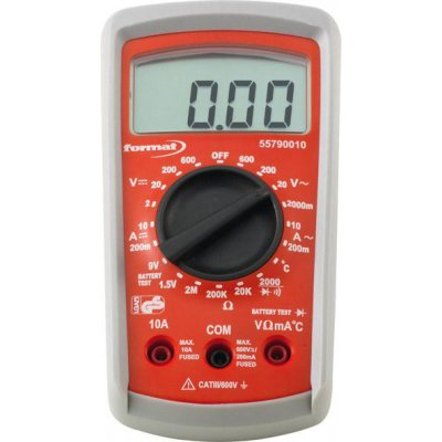 Digitálny multimeter 2-600V FORMAT