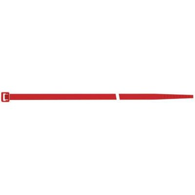 Viazacia páska na káble, nylon, červená 280x4,5mm po 100ks SapiSelco