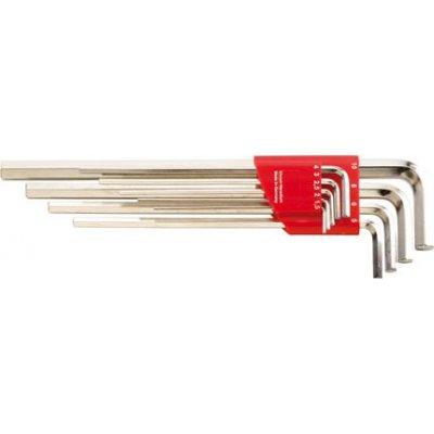 Držiak na Inbusový kľúč dlhý 1,5-10x mm 9 ks. FORMAT