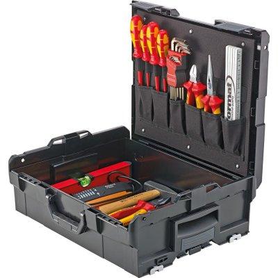 Sada náradia v kufríku L-Boxx pre elektrikárov 39 ks. FORMAT
