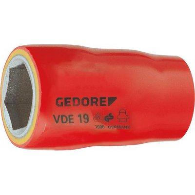 """Nástrčkový kľúč VDE 6-hran 1/2"""" 17x55,5mm GEDORE"""
