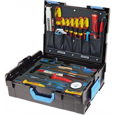Sada náradia v kufríku L-Boxx 136 pre elektrikárov 36 ks. GEDORE