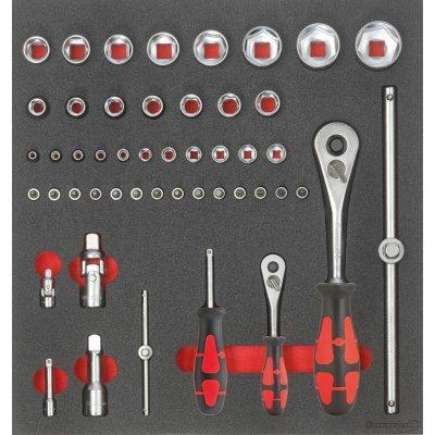 """Modul pre nástroje 2/3 Nástrčný kľúč 1/4"""" a 1/2"""" FORMAT"""