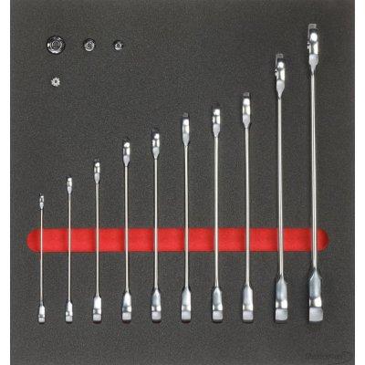 Modul pre nástroje 2/3 Prstencový kľúč s račňou FORMAT