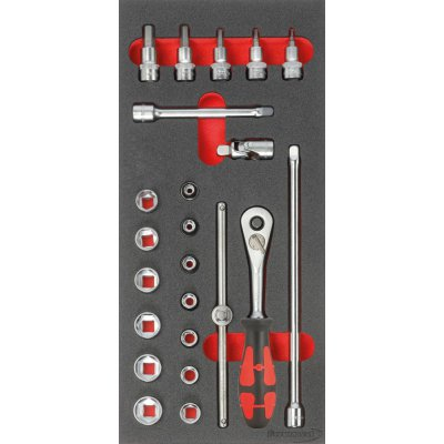 """Modul pre nástroje 1/3 Nástrčný kľúč 3/8"""" FORMAT"""