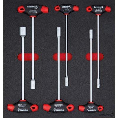 Modul pre nástroje 2/3 Nástrčkový kľúč 6-hran priečna rukoväť FORMAT