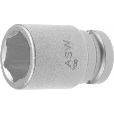 """Za tepla kovaný nástrčkový kľúč 1/4"""" 6mm ASW"""