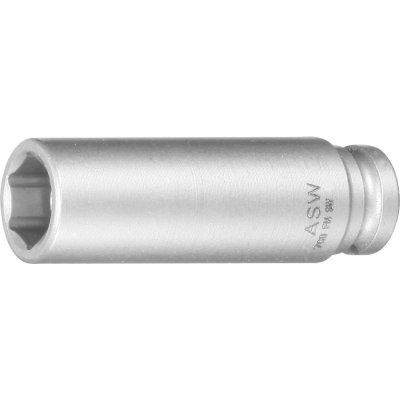 """Za tepla kovaný nástrčkový kľúč dlhý, pružinový magnet 1/4"""" 13mm ASW"""