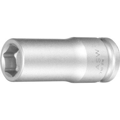 """Za tepla kovaný Nástrčkový kľúč dlhý, pružinový magnet 3/8"""" 10mm ASW"""