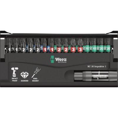 Sada bity Bit-Check 30 Impaktor 1 Wera