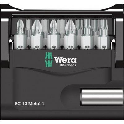 Sada bity Bit-Check 12 Metal 1 Wera