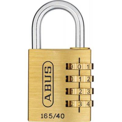 Visiaci číslovať zámok 165/30 3-ciferný kód ABUS