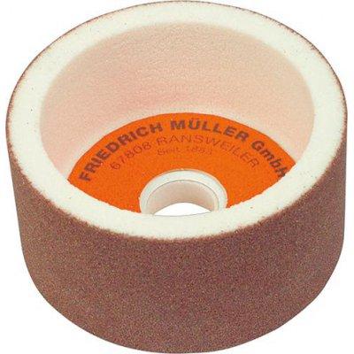 Hrncový brúsny kotúč ušľachtilý korund 100x50x20mm K80 Müller