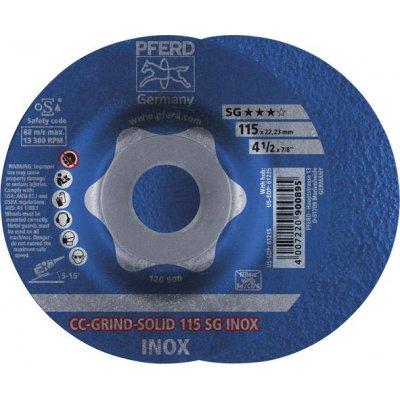 Brúsny kotúč CC-GRIND Solid SG INOX 115mm PFERD