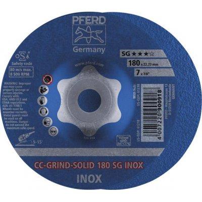 Brúsny kotúč CC-GRIND Solid INOX 180mm PFERD