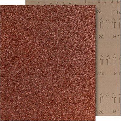 Brúsne plátno 230x280mm K120 hnedé FORMAT
