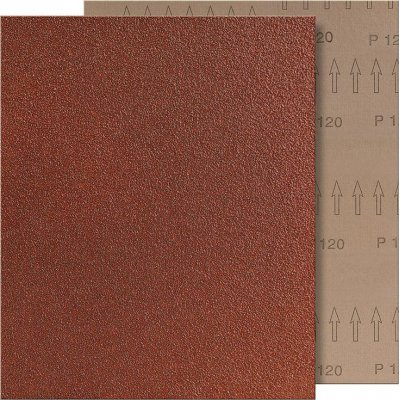 Brúsna tkanina 230x280mm K320 hnedé VSM
