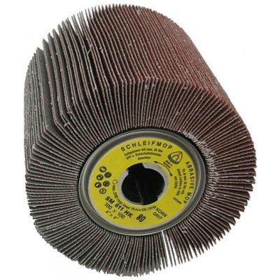 Lamelový brúsny valček SM611 K80 100x100x19mm Klingspor