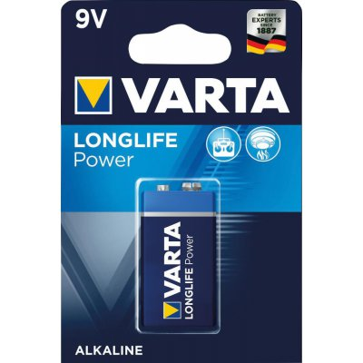 Batéria LONGLIFE Power 9 V e-block 1 kus v blister ks. VARTA