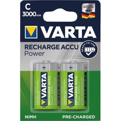 Batéria RECHARGEABLE aku C 3000mAh VARTA
