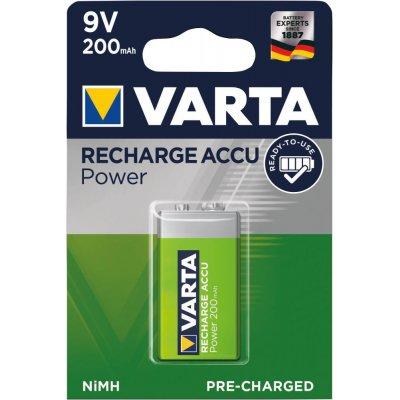 Batérie RECHARGEABLE Aku e-block 9V 200mAh VARTA