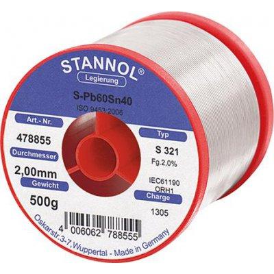 Spájkovací drôt 478855 500g O2mm Stannol